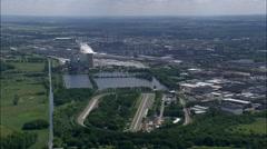 Volkswagen Works At Wolfsburg Stock Footage