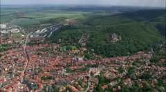 Wernigerode And Castle Stock Footage
