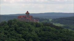 Wachsenburg Castles Stock Footage