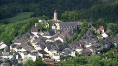 Lichtenberg aerial Stock Footage