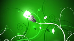 Going Green Loopable Background Stock Footage