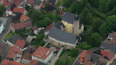 Eisfeld And Castle Stock Footage