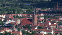 Stendal aerial Stock Footage