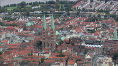 Lubeck Cathedral Stock Footage