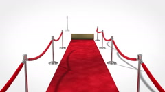 Loopable Red Carpet Stock Footage