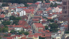 Wismar aerial Stock Footage