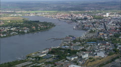 Rostock aerial Stock Footage