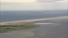 Western Pomerania Lagoon Area National Park Stock Footage