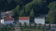 Putbus aerial Stock Footage