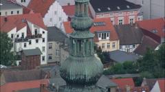 Greifswald aerial Stock Footage