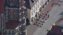 St Martin's Church, Landshut Stock Footage