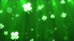 Saint Patricks Day Background - stock footage