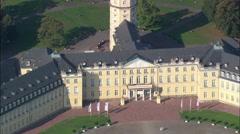 Karlrushe Palace Stock Footage
