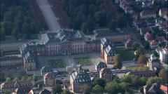 Bruchsal Castle Stock Footage