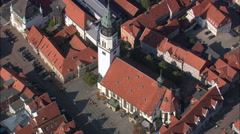 Celle aerial Stock Footage
