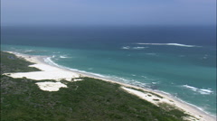 Coastline In Agulhas National Park Stock Footage