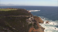 Mossel Bay Lighthouse Stock Footage
