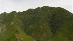 Outeniqua Mountains Stock Footage