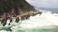 Bloukrans River And Bridge - Eastern & Western Cape Stock Footage