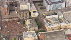 Port Elizabeth City Hall Square Stock Footage