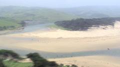 Coastline Near Nqakanga Stock Footage