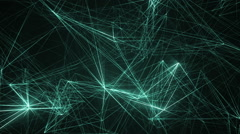 Beautiful neon movement background. Stock Footage