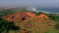 Landscape Near Umtentu Stock Footage