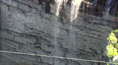 Lehr's Waterfall Stock Footage