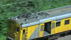 Suburban Train Out Of Kelso Stock Footage