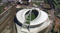 Moses Mabhida Stadium Stock Footage