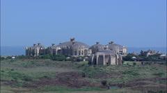 Sibaya Casino And Newsal Beach Stock Footage