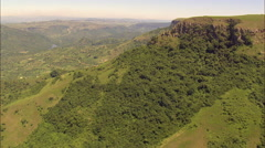 Valley Of A 1000 Hills Around Nagle Dam Stock Footage
