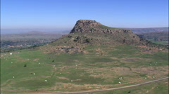 Isandlwana Battlefield And Memorials Stock Footage