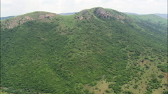 South West Corner Of Swaziland Stock Footage