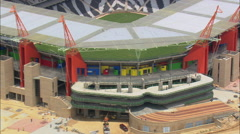 Mbombela Stadium - Nelspruit Stock Footage