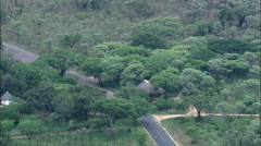 Numbi Gate Into Kruger National Park Stock Footage