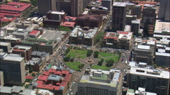 Church Square Stock Footage