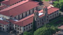 Bloemfontein aerial Stock Footage