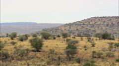 Arid Landscape Stock Footage