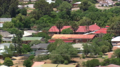 Griquatown aerial Stock Footage