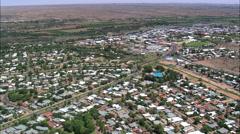 Uppington aerial Stock Footage