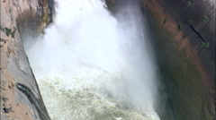 Augrabies Falls Stock Footage