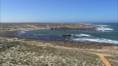 Hondeklipbaai And Abalone Factory Stock Footage