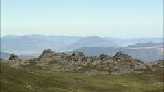 Cederbergs And Sneeuberg Mountain Stock Footage