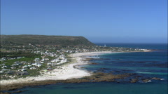 Kommetjie And Lighthouse Stock Footage