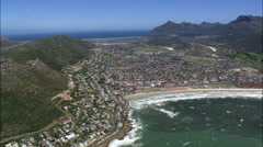 Fish Hoek And Kalk Bay Stock Footage