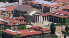 University Of Cape Town Stock Footage