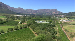 Boschendal Winery Stock Footage