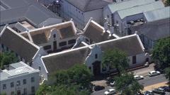 Stellenbosch aerial Stock Footage