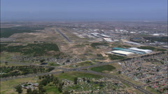 Cape Town International Airport Stock Footage
